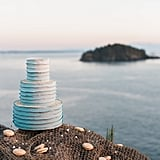 Simply Blue Wedding Cakes