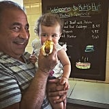 Alena Jonas definitely didn't look too sure about that hot dog . . .