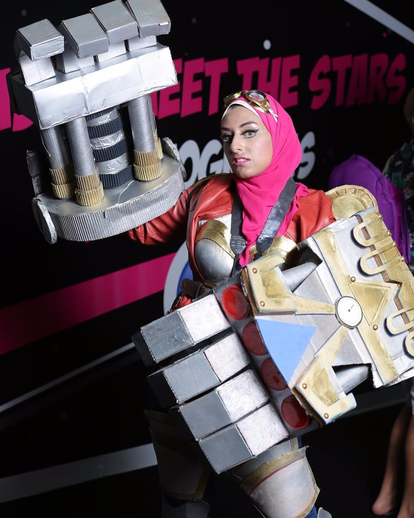 Women in Cosplay For Middle East Film and Comic-Con 2016