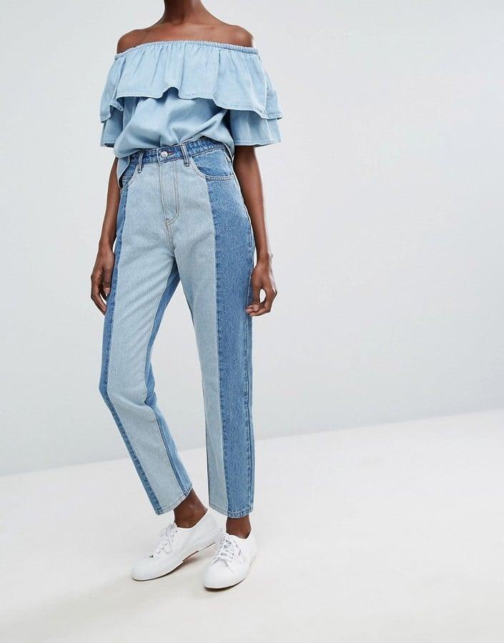 ASOS Twiin Levels Jeans
