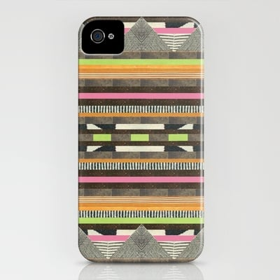 Aztec No. 2 by Dawn Gardner Smartphone Case