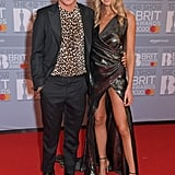 Jaime Laing and Sophie Habboo at the 2020 BRIT Awards in London