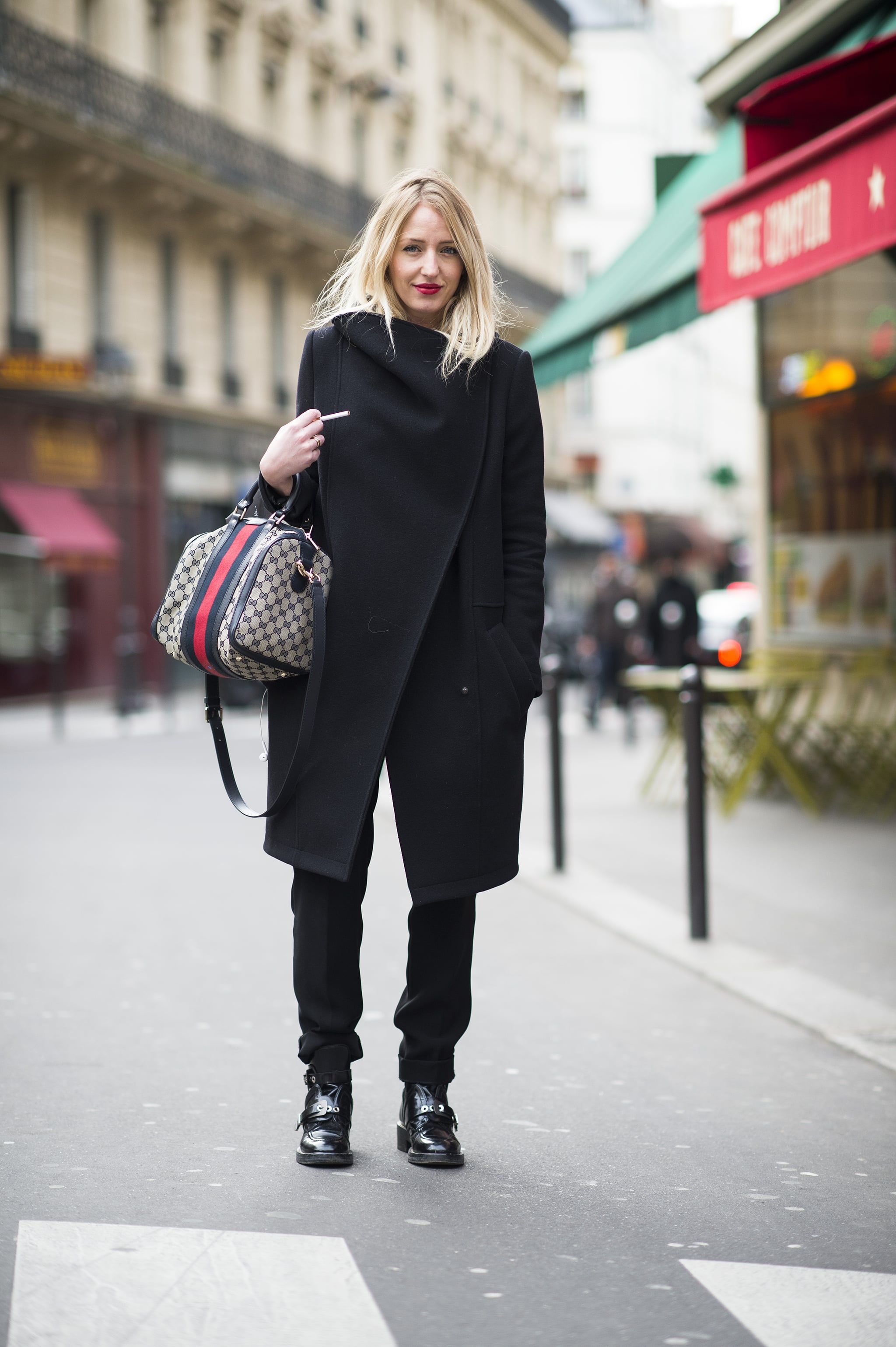 The best kind of outerwear is the kind that makes you forget what you have on underneath. Source: Le 21ème   Adam Katz Sinding