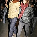Jessica Alba and Cash Warren at the Jay-Z concert in LA.