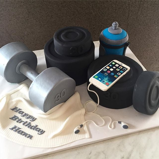Fitness Themed Cakes Popsugar Fitness
