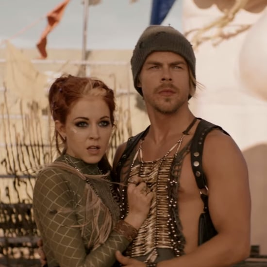 Lindsey Stirling and Derek Hough Dancing Music Video