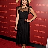 Lea Michele on Winter Shoes and Her Favorite New Purchase From Kohl's