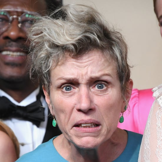 Frances McDormand Press Room Pictures SAG Awards 2018