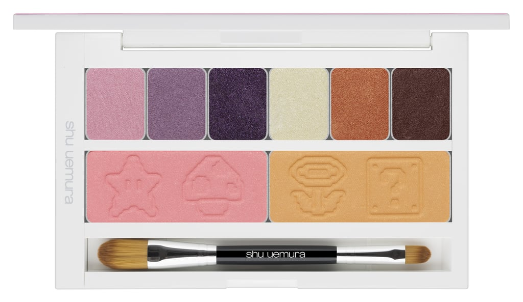 Shu Uemura x Super Mario Bros Peach's Eye and Cheek Palette, $115