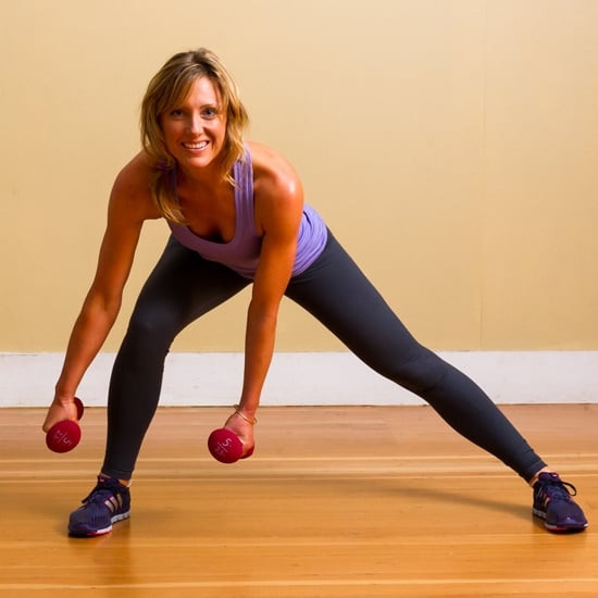 How To Get Good Legs: Side Lunges Workout With Dumbbells