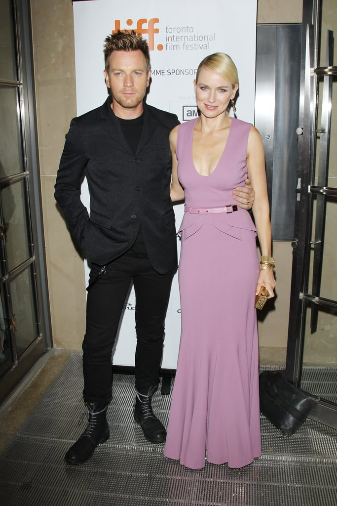 Ewan McGregor and Naomi Watts arrived at The Impossible's premiere during the 2012 Toronto International Film Festival.