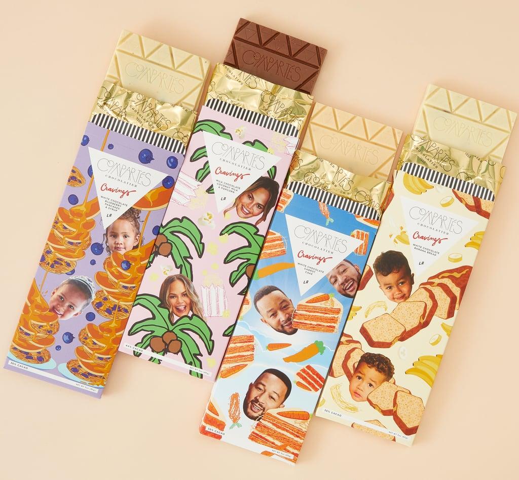 Shop Chrissy Teigen x Compartés's Luxury Chocolate Bars