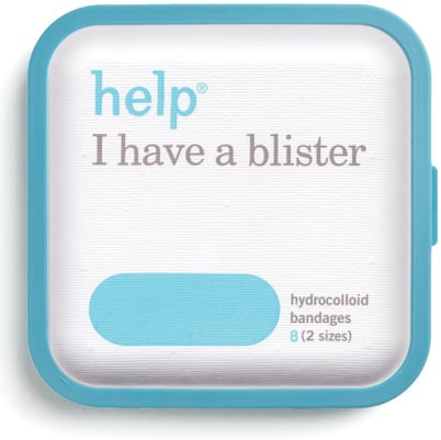 Sometimes, even the comfiest pair of shoes can't save you from blisters. These cool blister bandages come with hydrocolloid to help your healing process go faster.