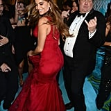 Sofia Vergara and Eric Stonestreet at the 2013 Emmy Awards