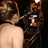 Kristen Bell snapped a selfie.