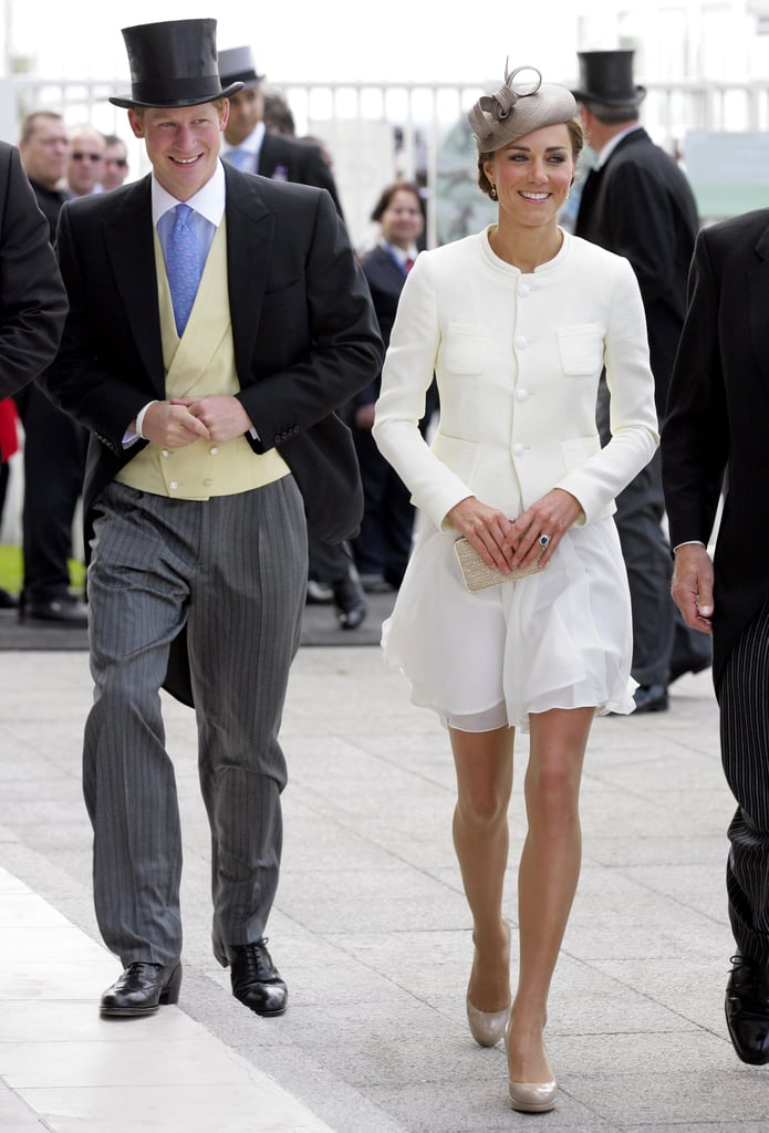 In June 2011, they were all smiles during Derby Day in Epsom, England.