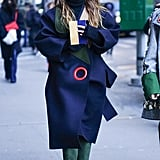 Miroslava Duma at Fashion Week Fall 2016
