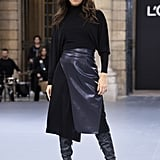 Eva Longoria Walks Le Défilé L'Oréal Paris 2019