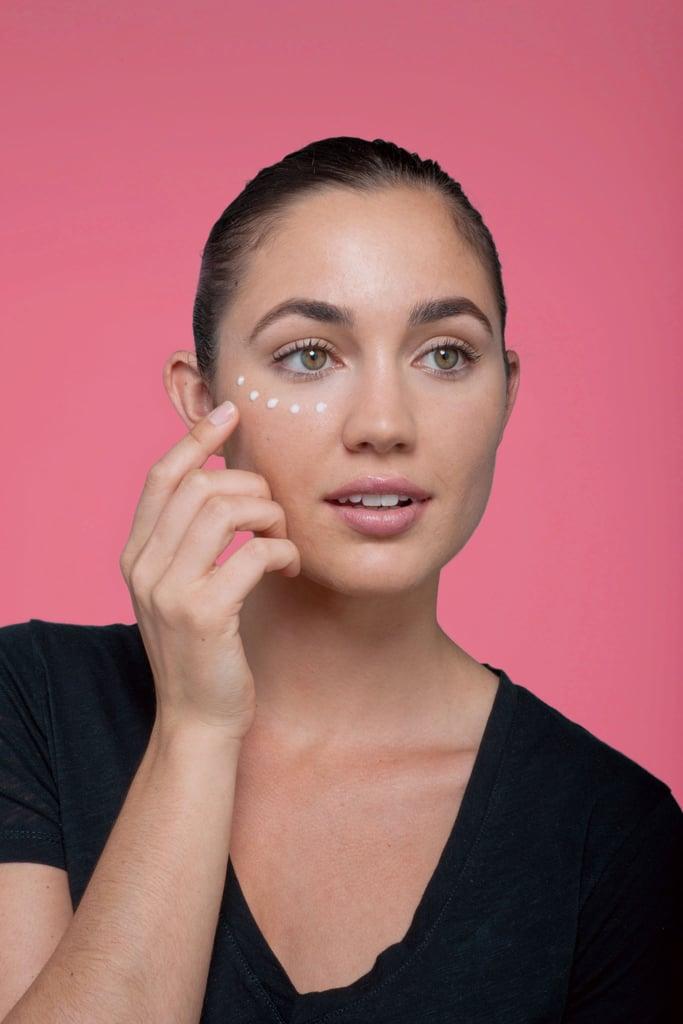 Finish by applying moisturizer