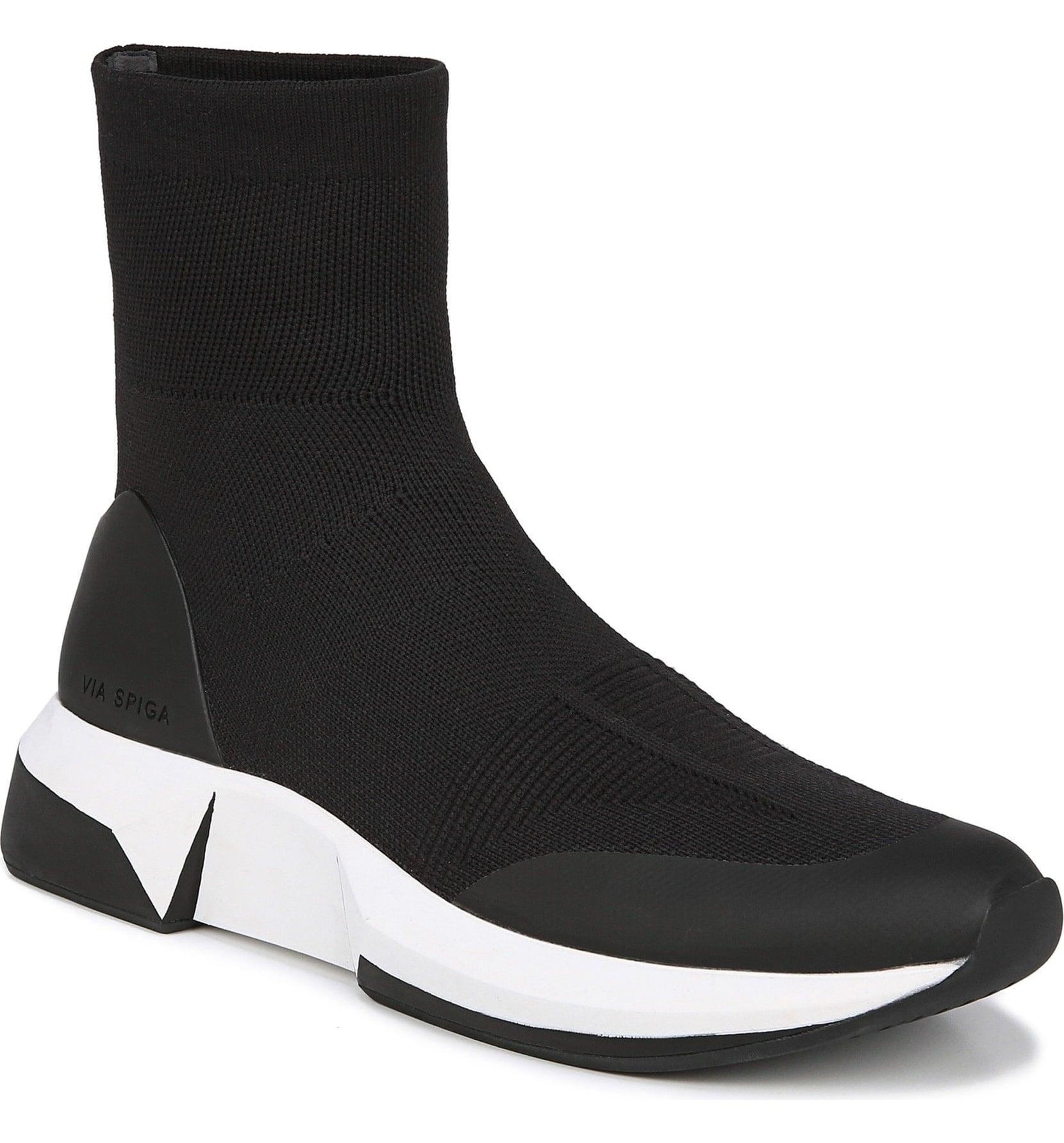 Via Spiga Verion High Top Sock Sneakers