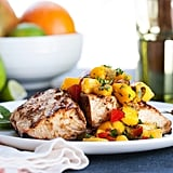 Andrew Zimmern's Grilled Mahi Mahi With Mango Relish