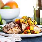 Andrew Zimmern's Grilled Mahi Mahi With Mango Relish