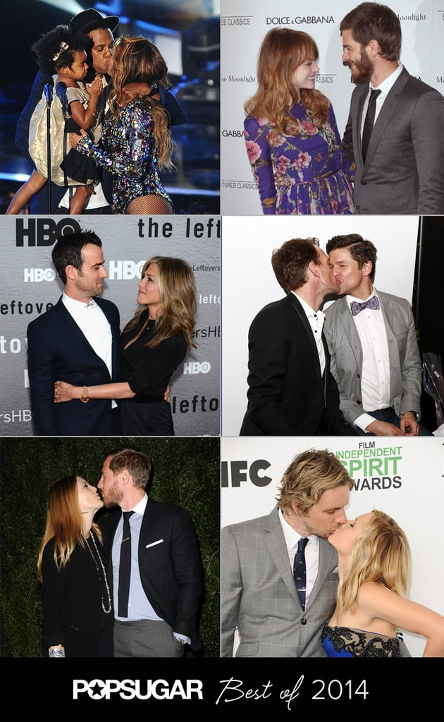 The 45 Sweetest, Sexiest Celebrity PDA Moments of 2014
