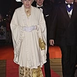 In 2002, Queen Elizabeth II and Prince Philip attended the Royal Gala Premiere of the James Bond film Die Another Day.