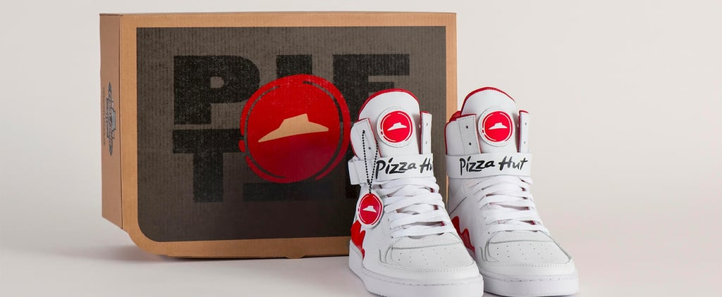 Pizza Hut Pie Top Shoes