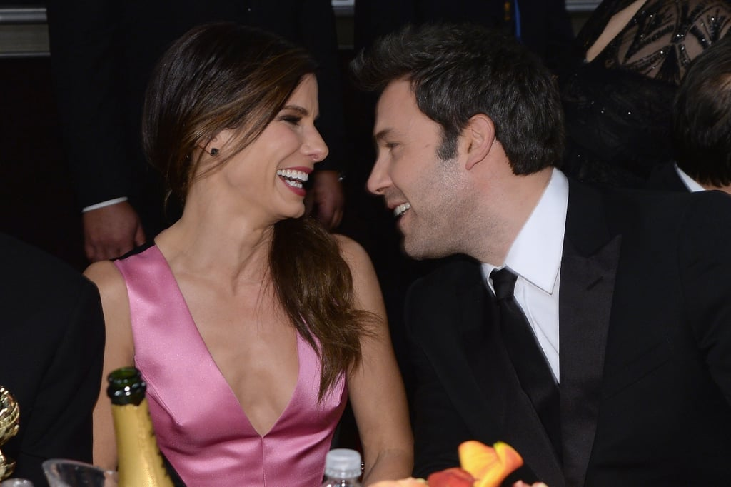 Sandra Bullock and Ben Affleck laughed and made us swoon. Source: Larry Busacca/NBC/NBCU Photo Bank/NBC