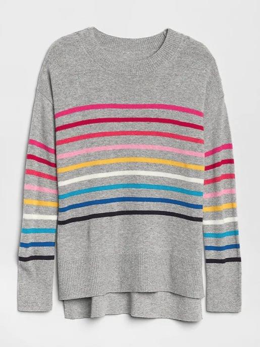 Crazy Stripe Sweater Tunic