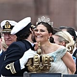 When Crown Princess Victoria Congratulated Her Brother