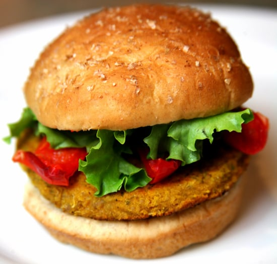 Spicy-Sweet Potato Burgers