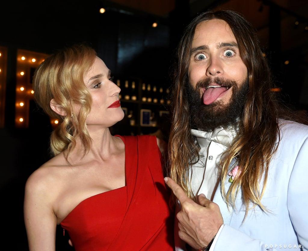 Jared Leto and Diane Kruger