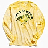 Urban Outfitters Don't Be Bitter Long Sleeve Tee