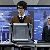 This time around, young Ben Whishaw plays Q, Bond's technology guru. He's the fourth actor to portray the character popularized by Desmond Llewelyn, who appeared in 17 Bond films over his career.