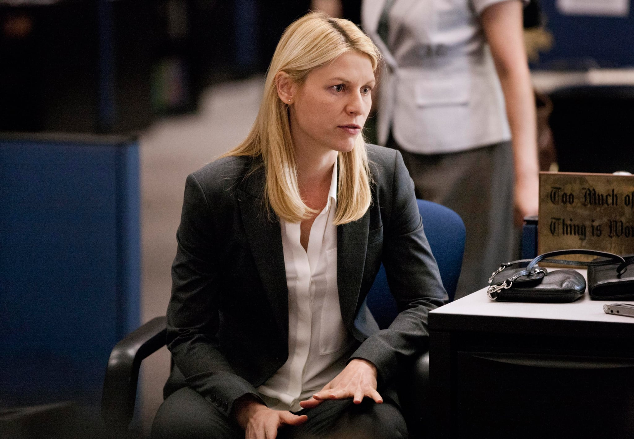 HOMELAND, Claire Danes, 'Uh... Oo ... Aw...', (Season 3, ep 302, airs Oct. 6, 2013), 2011-. photo: Kent Smith /  Showtime Network / Courtesy: Everett Collection