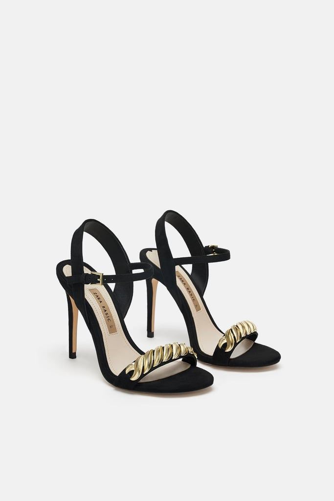 Our Pick: Zara High Heeled Sandals With Chain