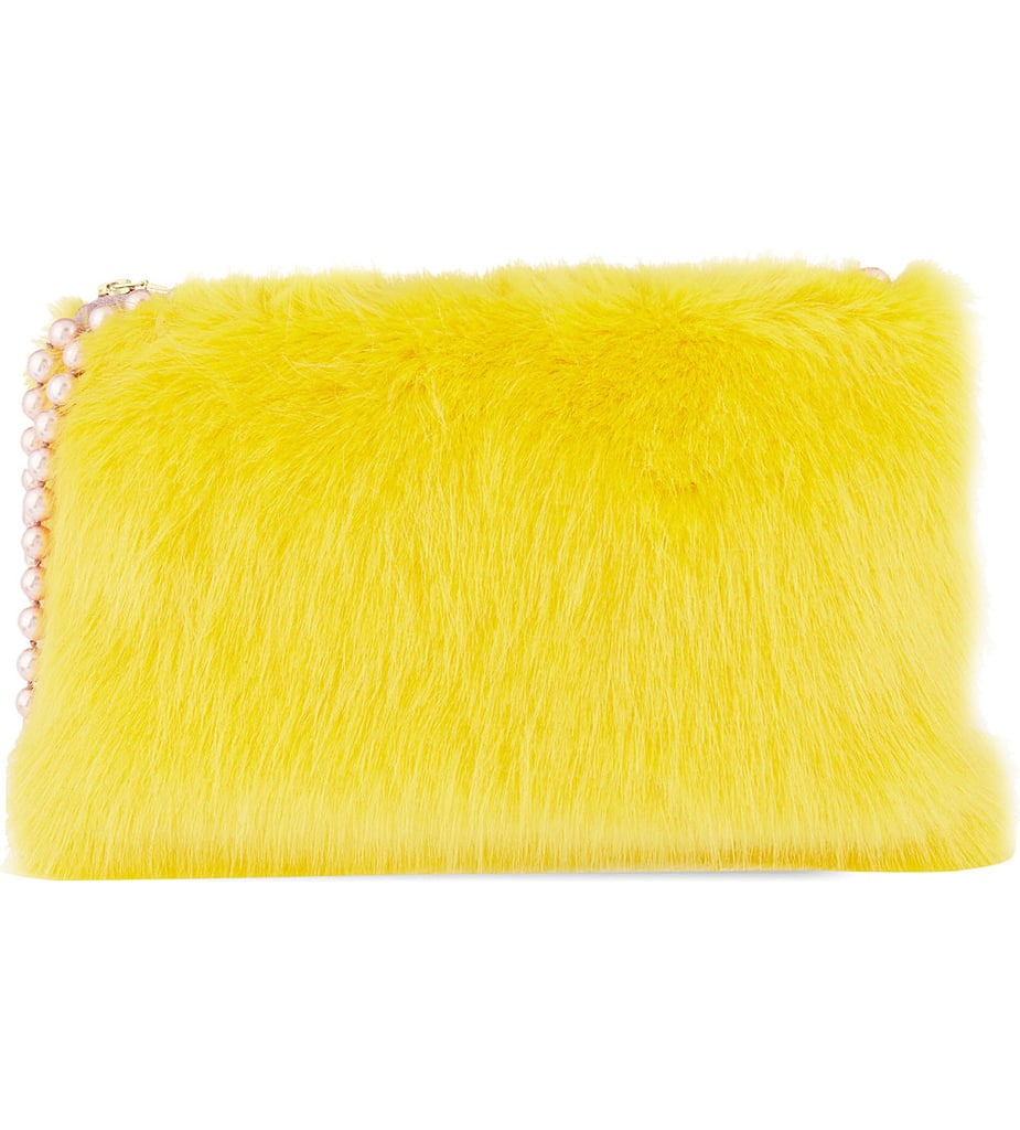 Shrimps Pearly Clutch Bag
