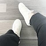 Topshop Curly Low-Top Sneakers