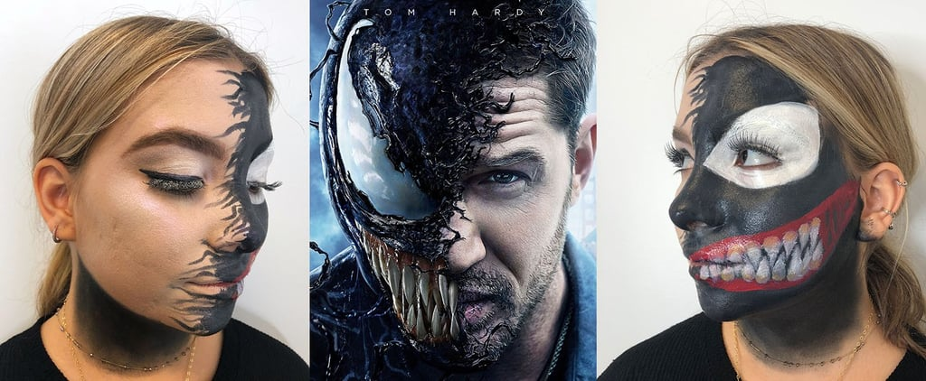 Venom Halloween Makeup