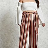 Forever 21 Striped Palazzo Pants