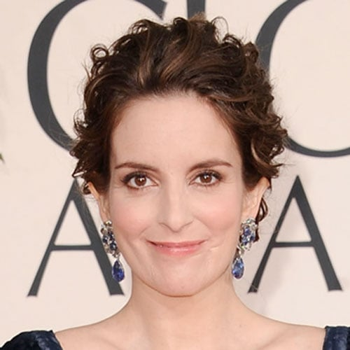 Tina Fey at Golden Globes 2011