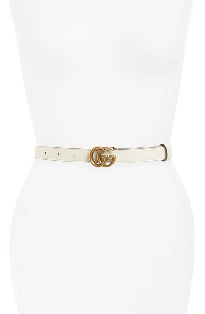 0c54fd73dff Gucci Double-G Buckle Calfskin Belt