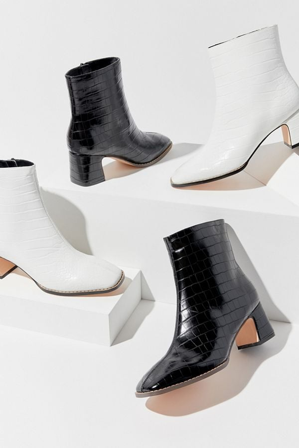 UO Kate Croc Ankle Boots
