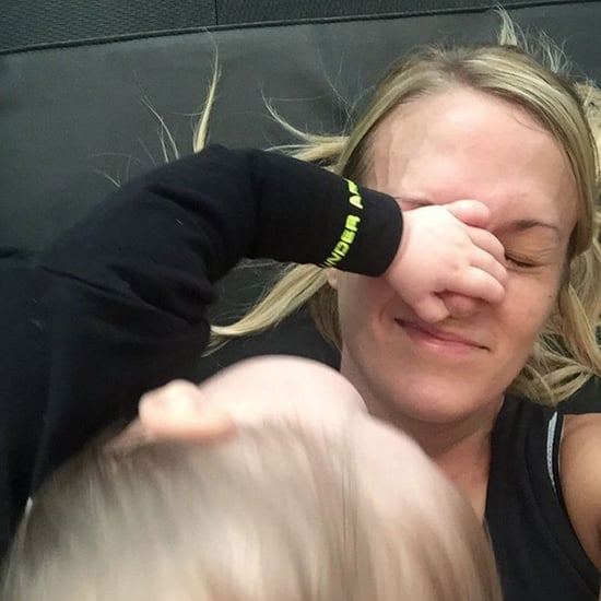 Carrie Underwood Works Out With Her Baby
