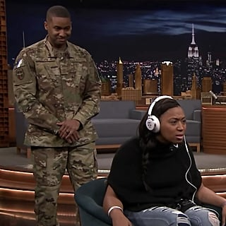 Jimmy Fallon Whisper Challenge Veterans Day Reunion Video