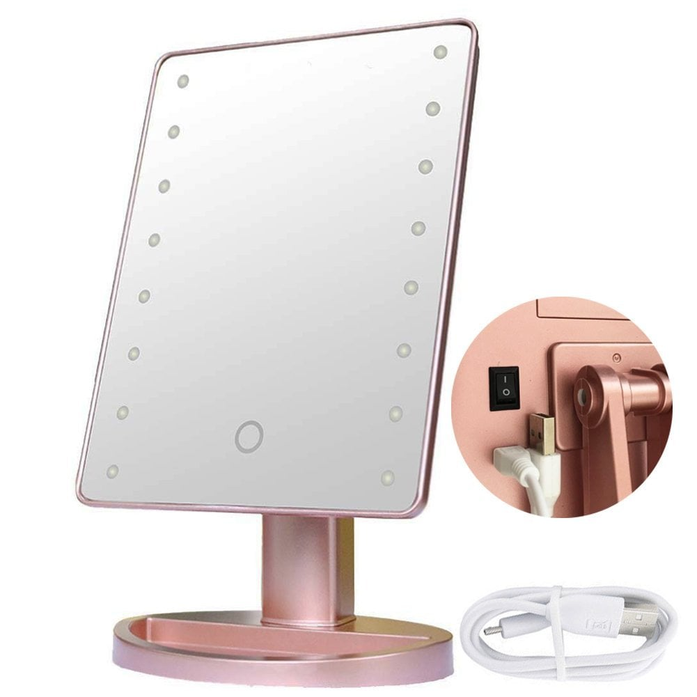 RightOn Lighted Makeup Mirror