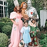 Molly Sims and Her Family Dressed as Characters From the Wizard of Oz