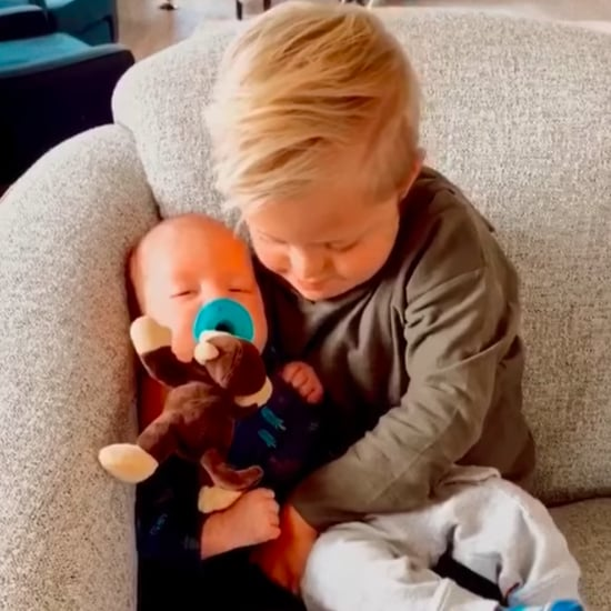 Boy With Down Syndrome Comforts Baby Brother | Video